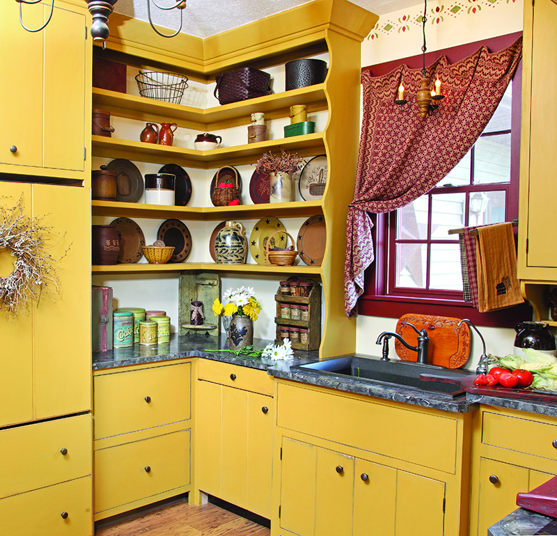 Kitchen Storage In The Early Home