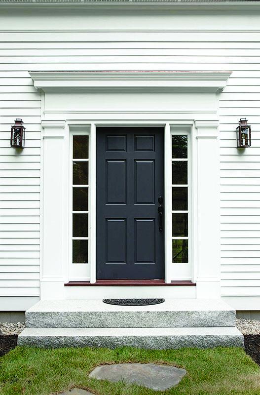 Greek Revival door