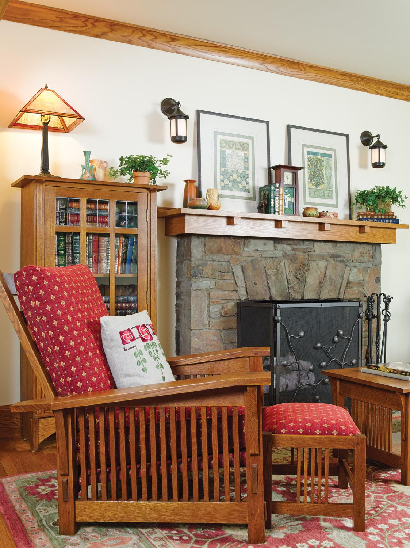 Sears Kit bungalow fireplace