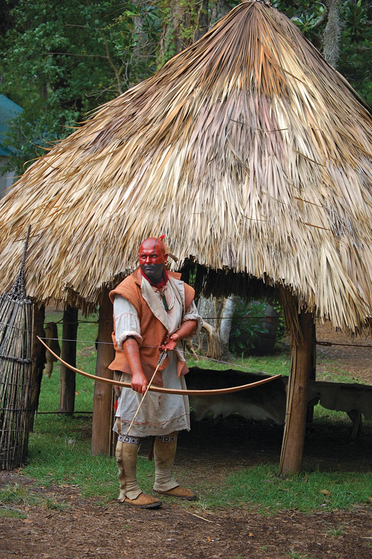 The Fountain of Youth Archaeological Park features Timucua re-enactors. (Courtesy: Fountain of Youth Archaeological)