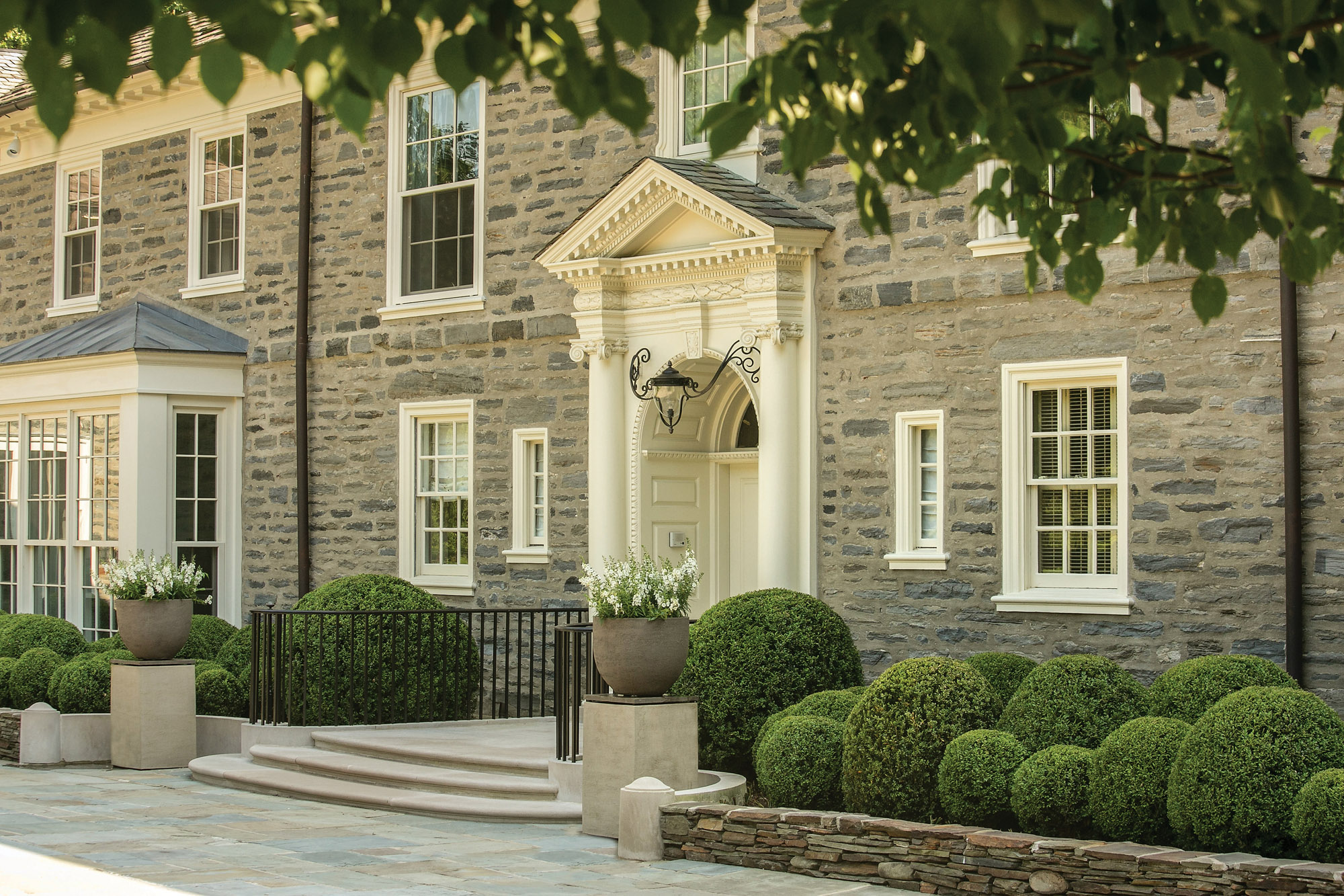 A Traditional Landscape for a Philadelphia Main Line Estate
