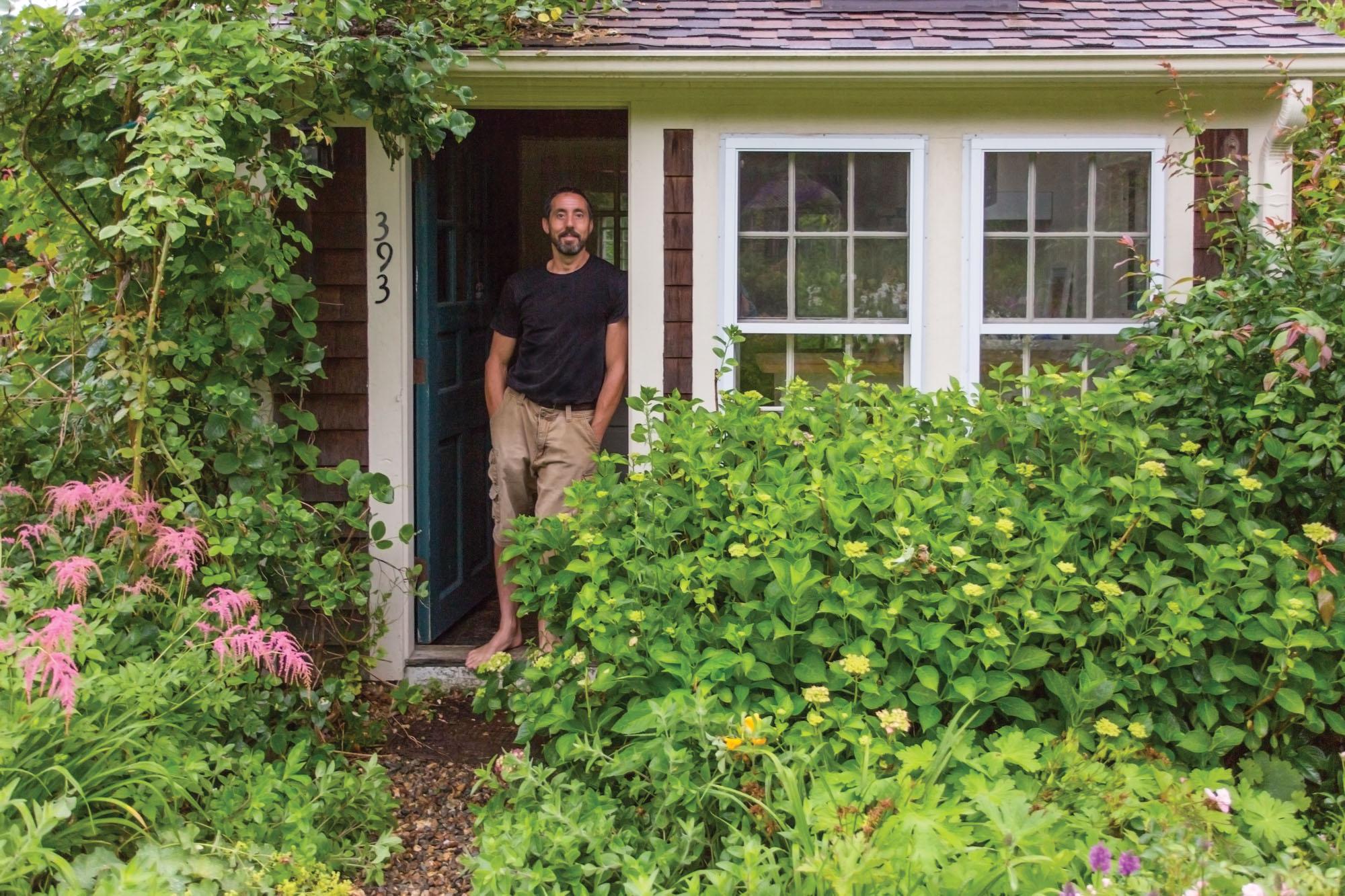 Garden designer Andrew Grossman