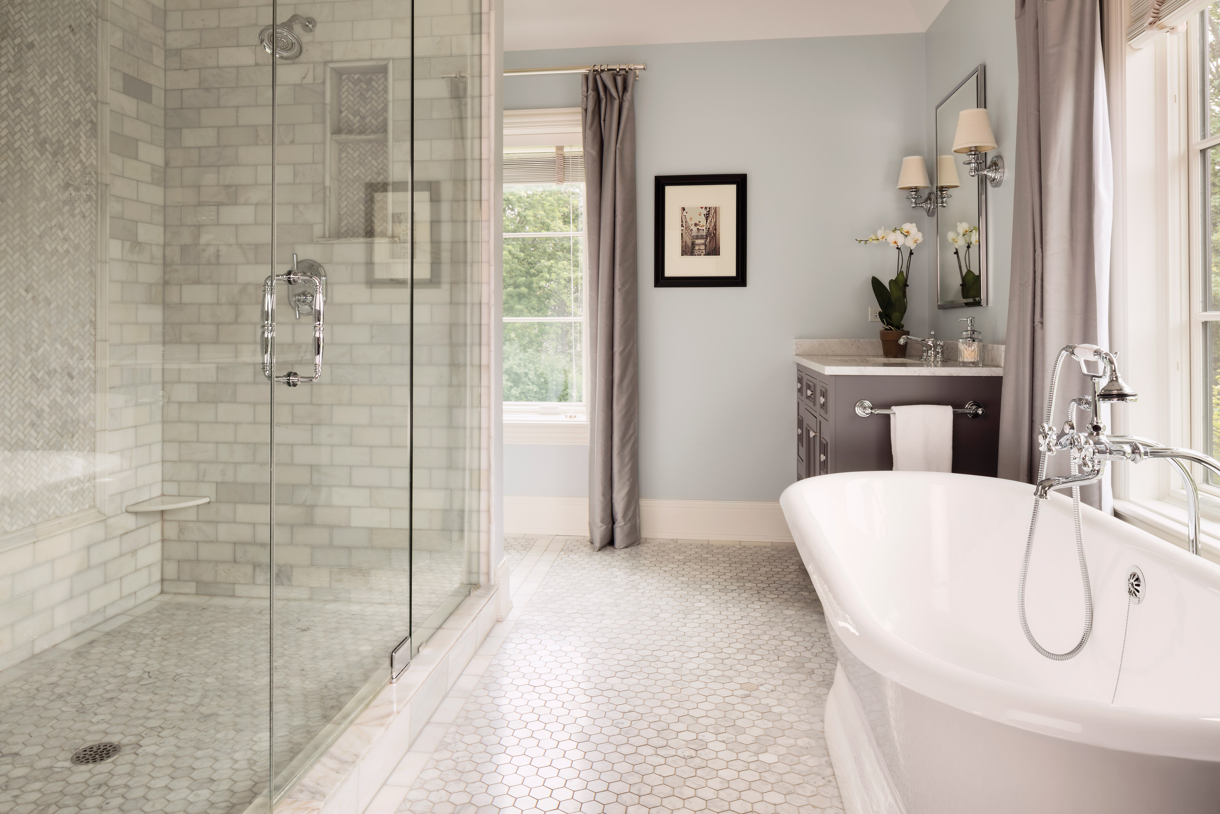 master bathroom, soaking tub