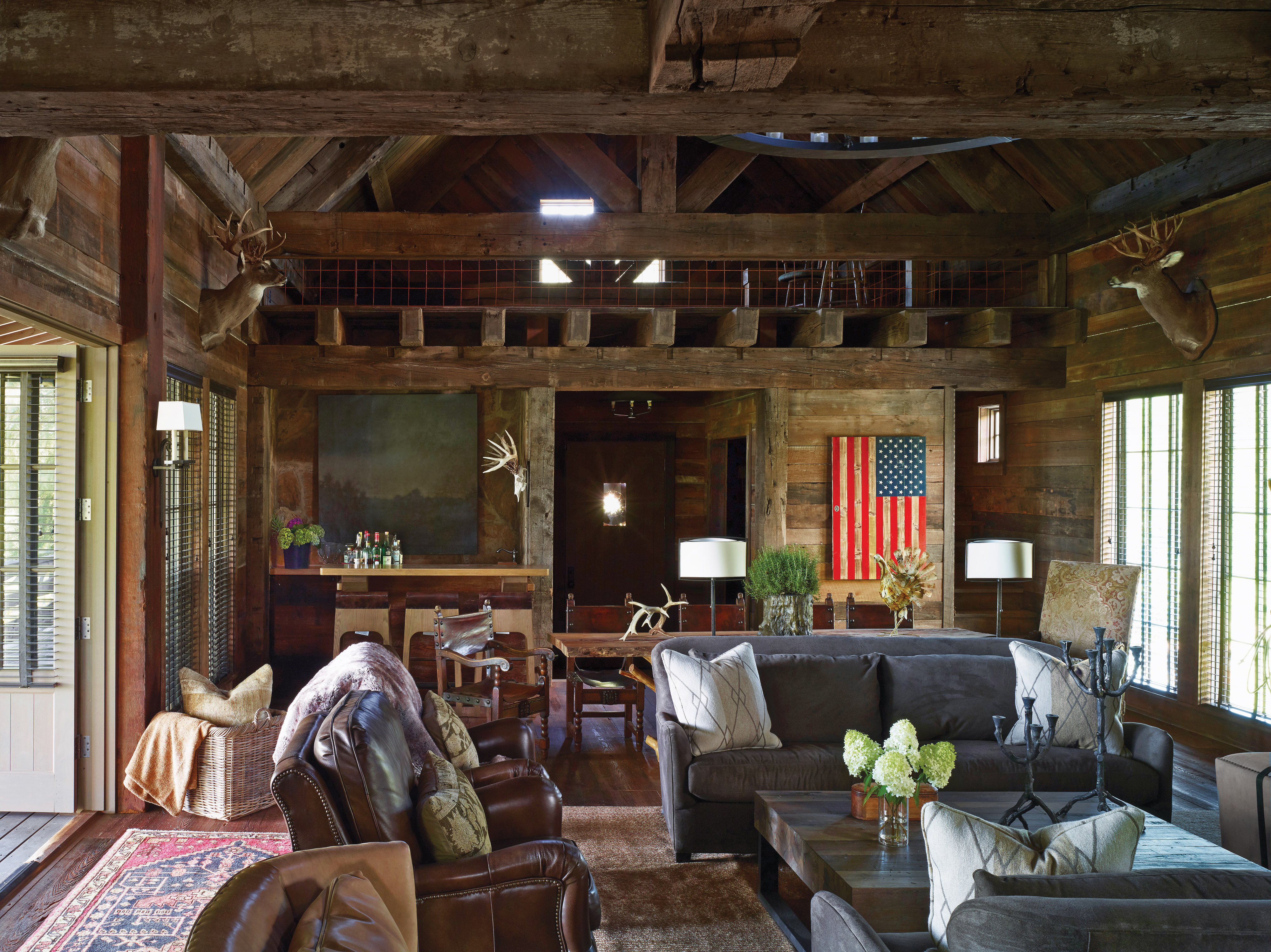 leather furnishings