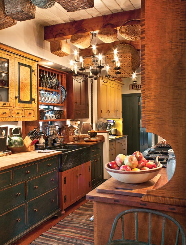 A Kitchen With Vintage Character: 8 Ways To Design A Kitchen For An Early House