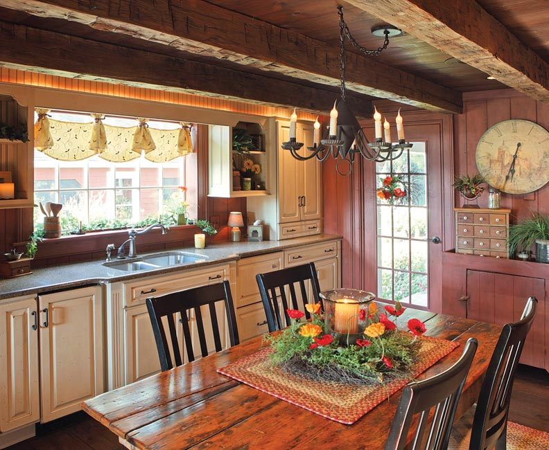 8 Ways To Design A Kitchen For An Early House Old House Journal