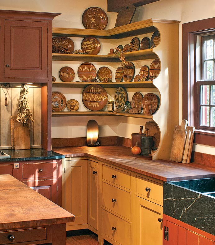 8 Ways To Design A Kitchen For An Early House