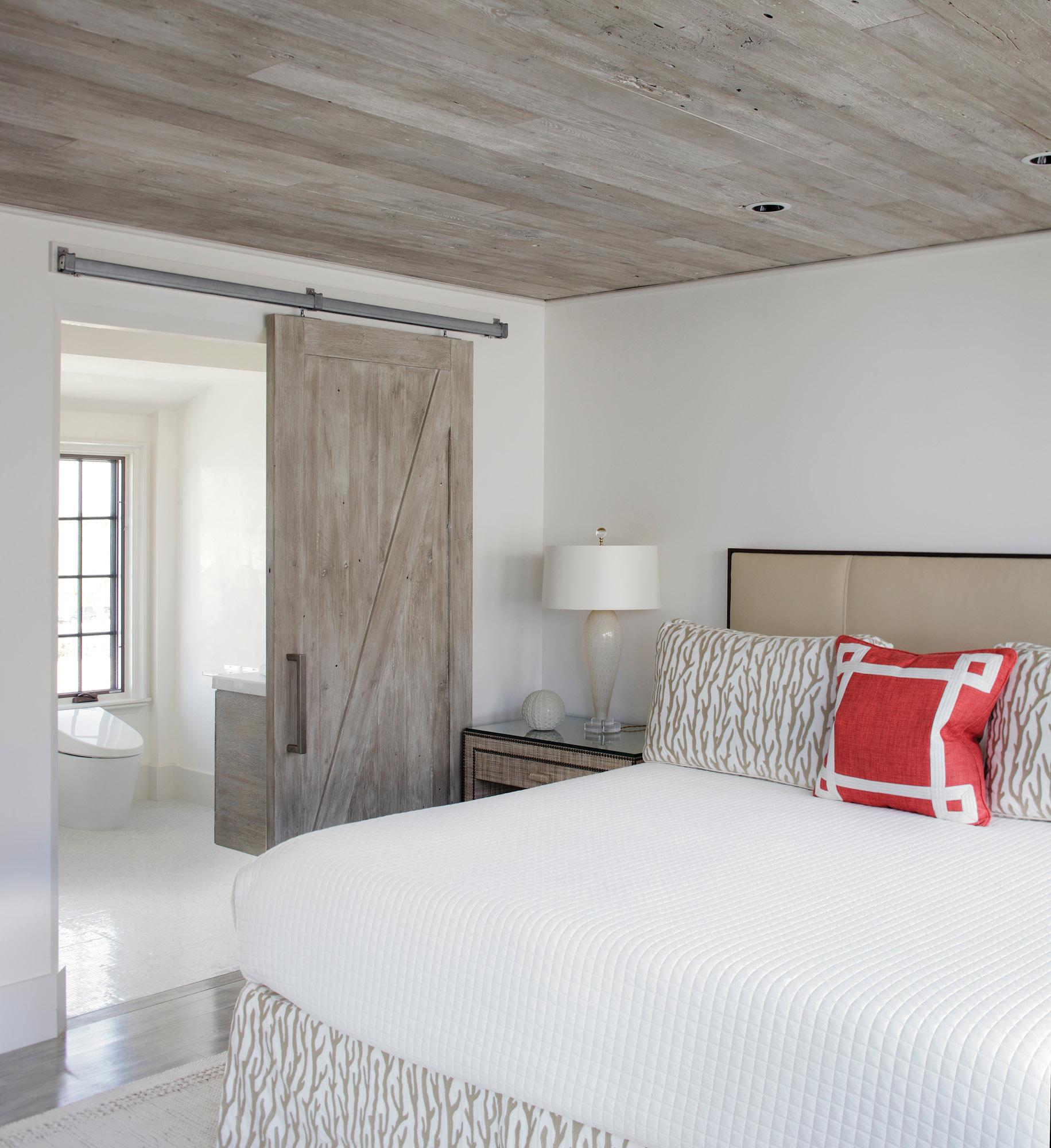 white-oak sliding door