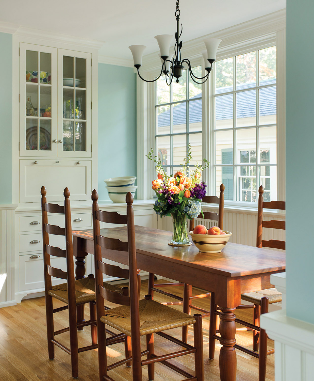 Winchester dining cupboard, Kennebec