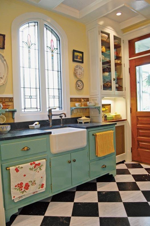 Photo Gallery Checkerboard Kitchen Floors Restoration
