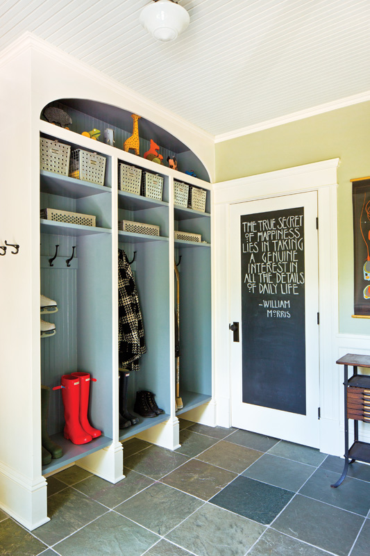 A cubby for each child.