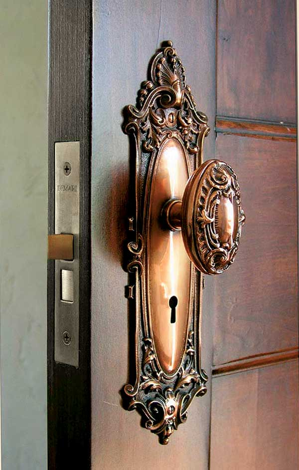A custom replication of an 1890 design by Al Bar-Wilmette Platers.