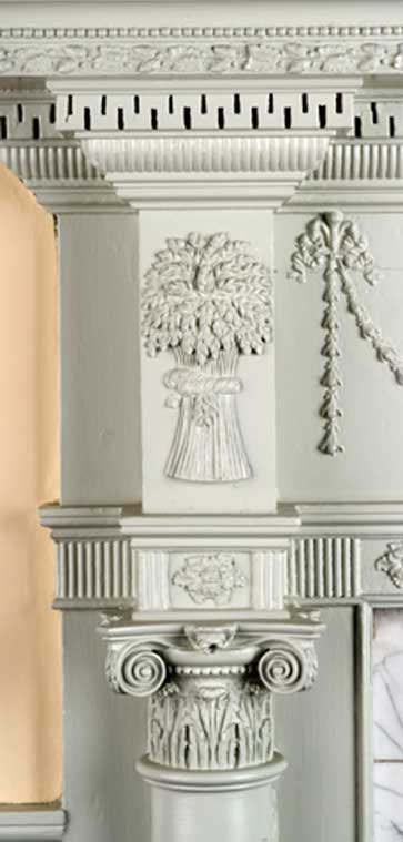 A McIntire mantel at the Gardner–Pingree House