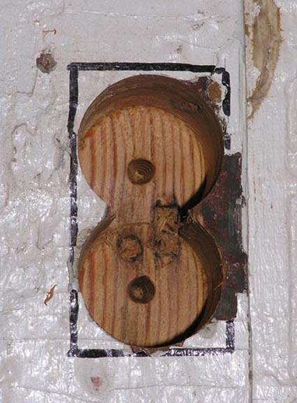 Removing damaged wood