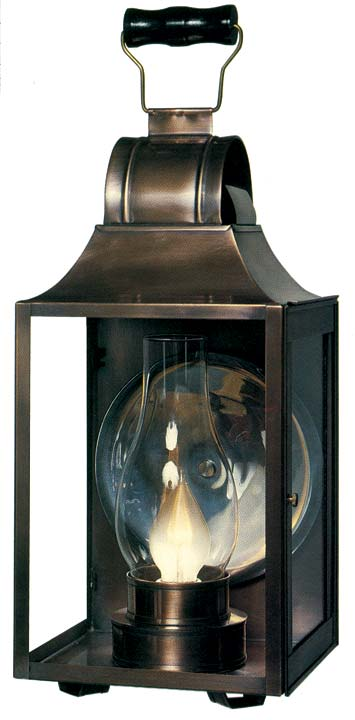 A reproduction early American sconce from Heritage Lanterns