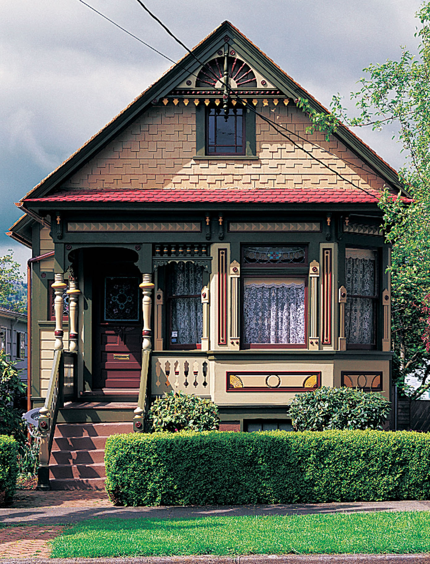 Victorian cottage in Portland