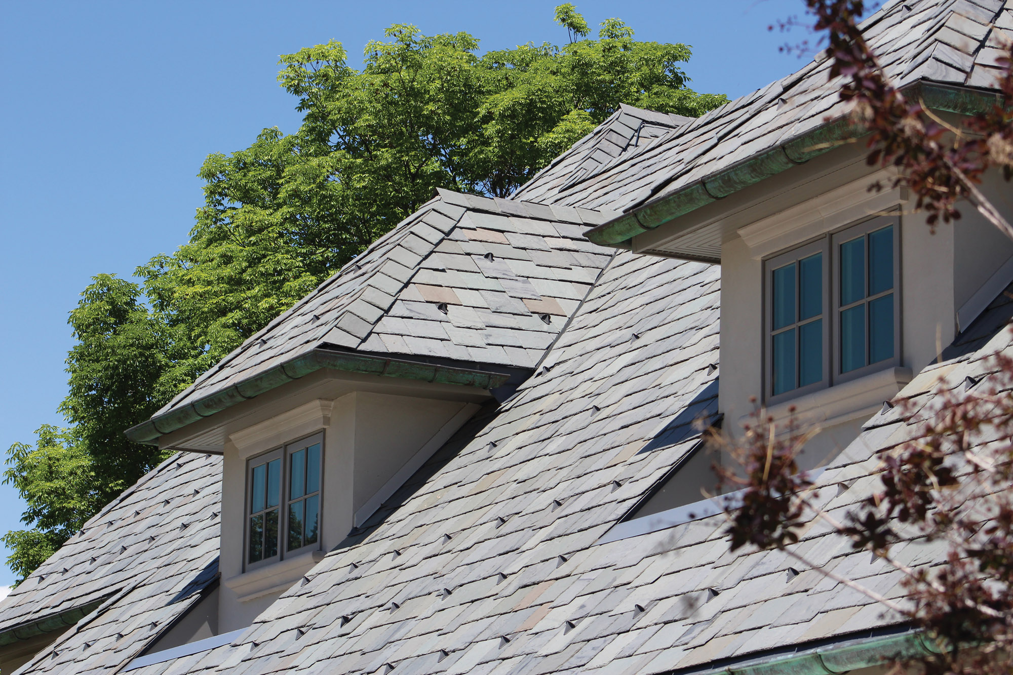Vermont slate roof, SlateTec