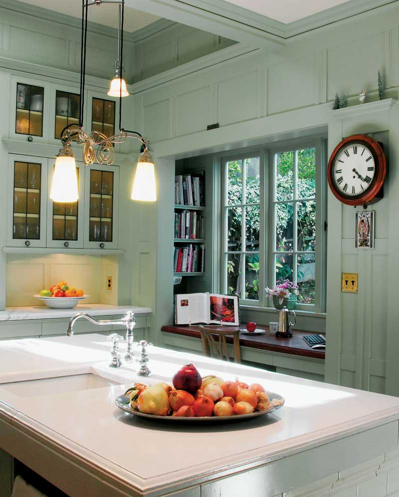 A Classic Kitchen For An Edwardian Renovation Old House Journal Magazine