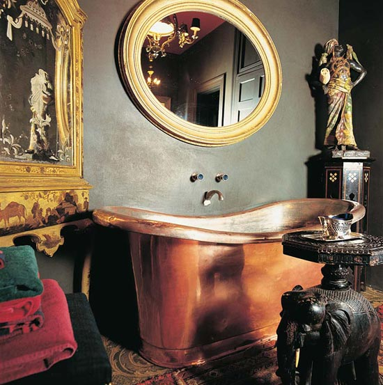 A small room, exotic and treated as a jewel.