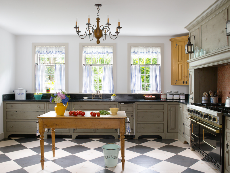 Colonial Kitchen A New Colonial Kitchen Old House Restoration Products Decorating
