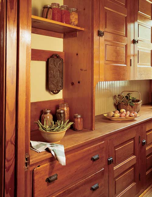 Turn of the century furniture - Turn Of The Century Butler S Pantry Pantry Design Ideas