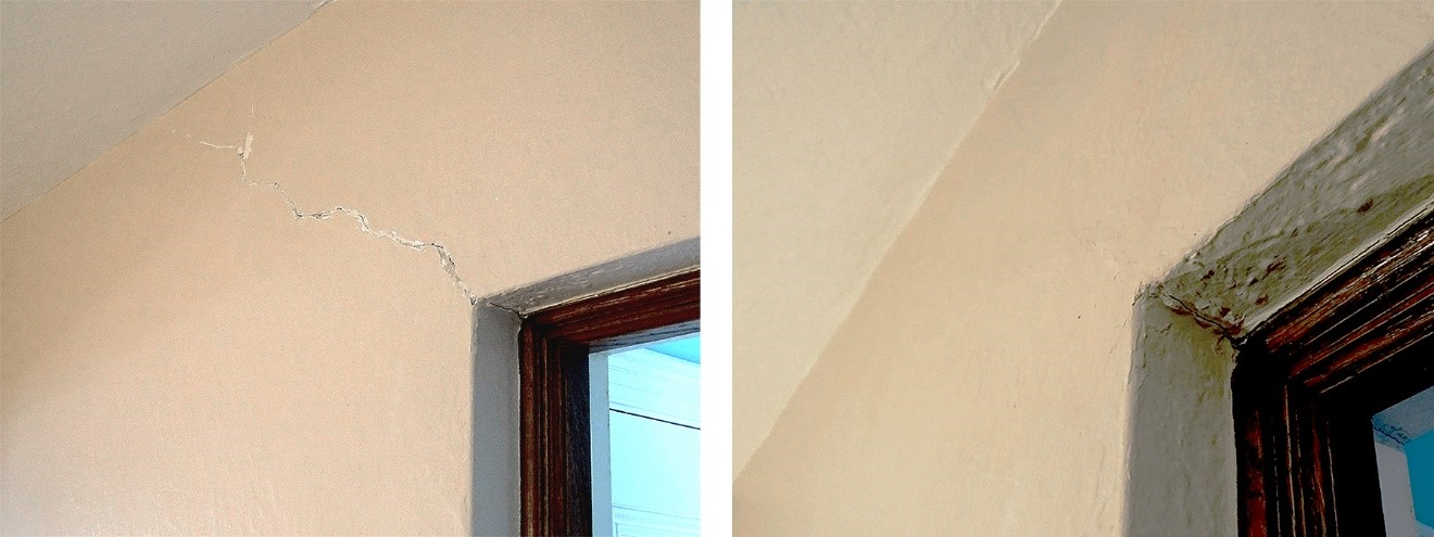 Plaster Restoration and Repair (Before and After)