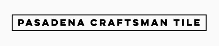 Pasadena craftsman tile logo.