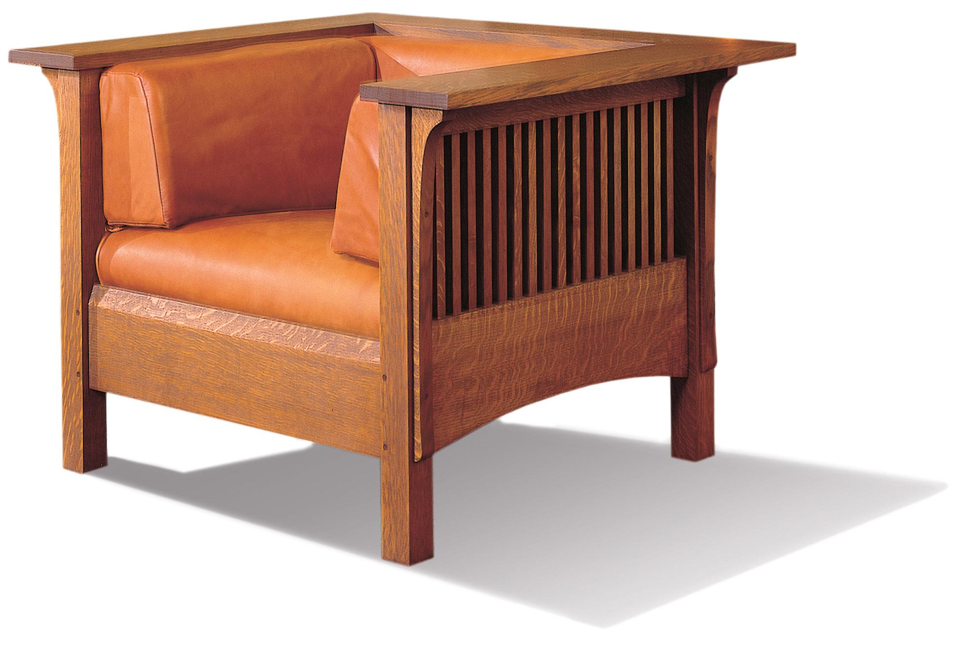 Prairie School chair