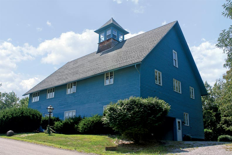Solid construction made the Callahans' barn ideal for transformation into a house.