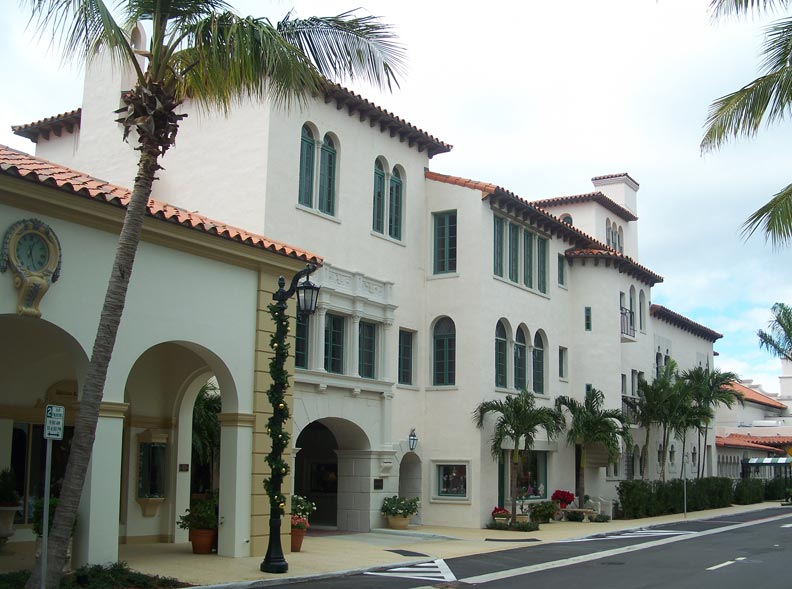 The Everglades Club was Mizner's first commission in Palm Beach.