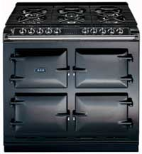 Two-oven electric cooker by AGA