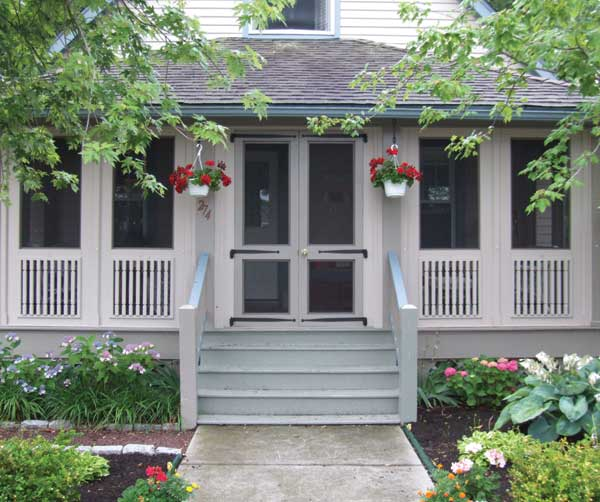 Small Front Porches On Houses: New Porches For Old Houses