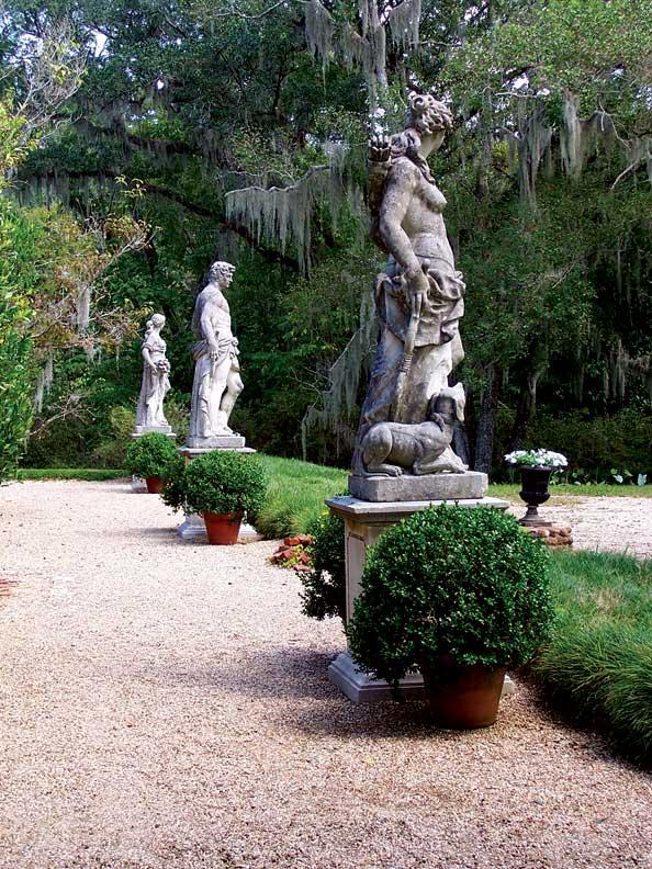 Antebellum Garden Design