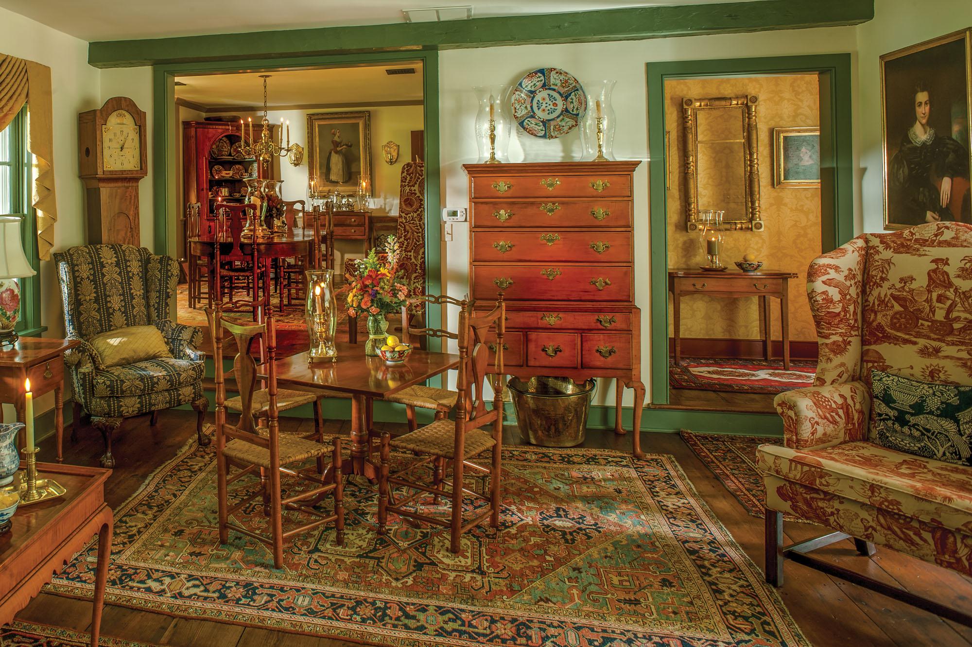 Colonial-era antiques