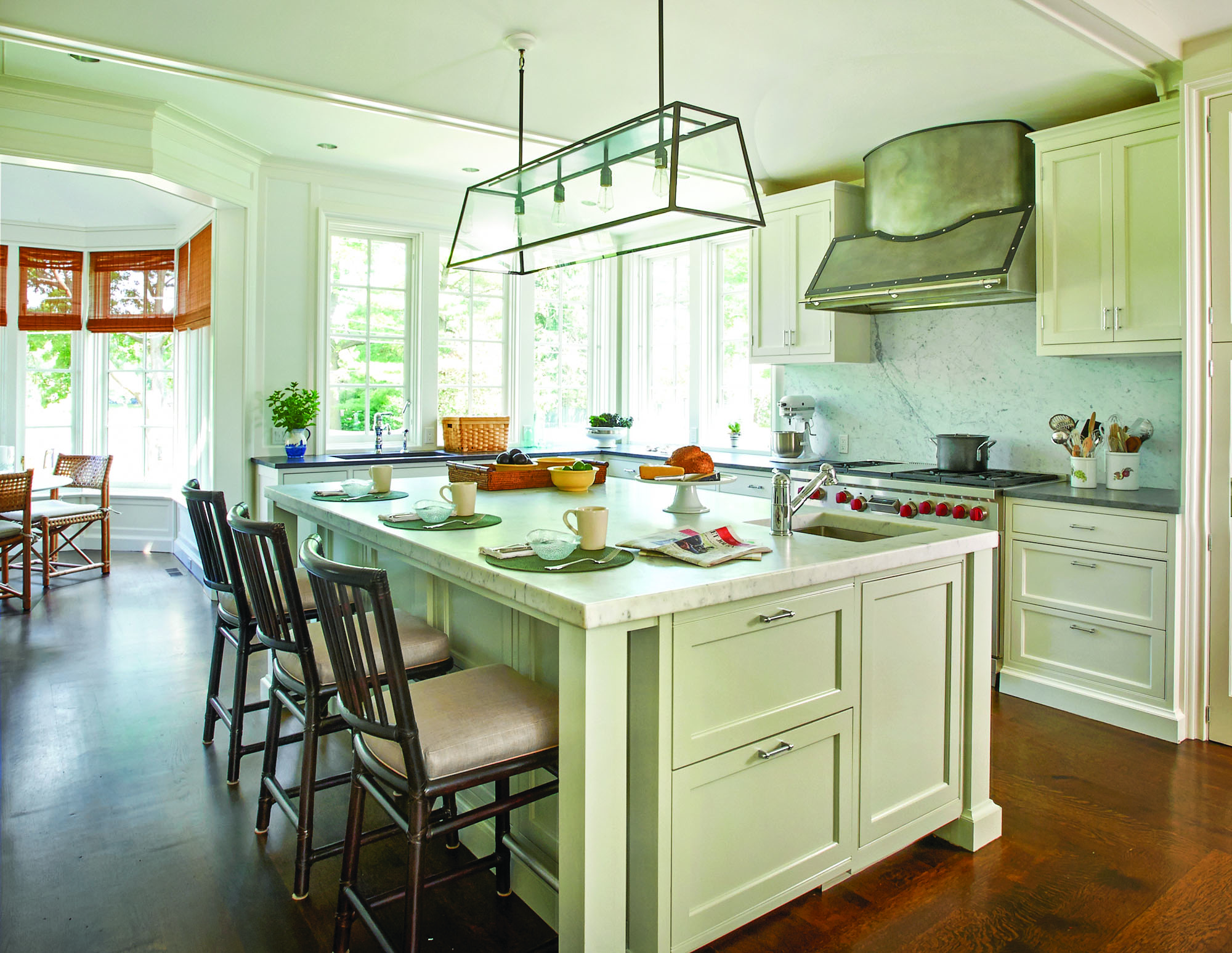 Traditional Coastal Kitchen - Old House Restoration ...