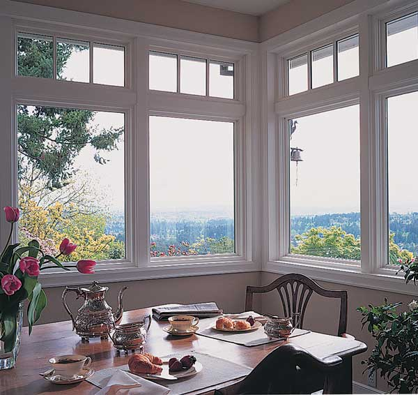 Architectural windows are more widely available, including round-top sash and divided-light transoms like these from Pella.