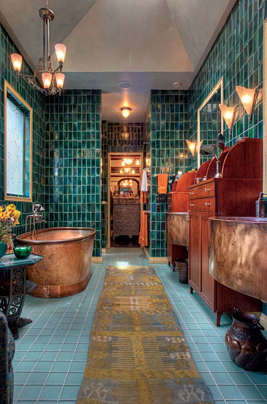 Art Nouveau bathroom