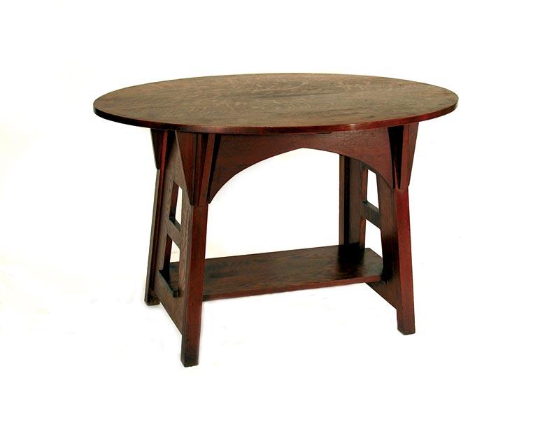 Limbert single-oval occasional table