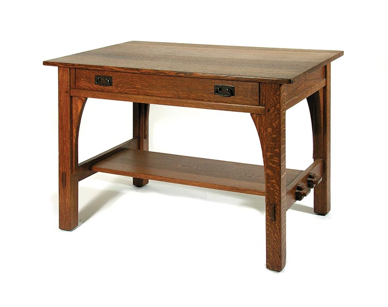 L. & J.G. Stickley library table