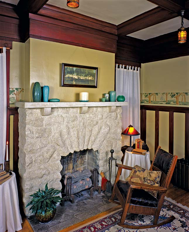 Fireplace ideas for bungalows old house restoration for 1930s bungalow interior design