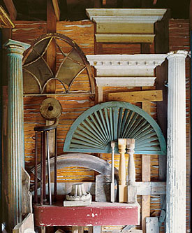 From columns and cornices to a wide variety of hardware, architectural salvage is diverse. While high-end dealers are making salvage shopping more convenient, nonprofit stores, whose proceeds typically benefit local preservation efforts, often have the best prices. Photo: Paul Rocheleau