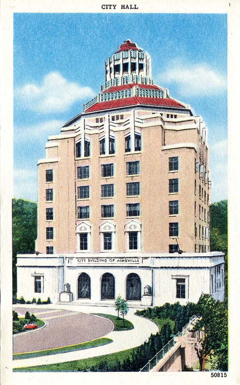 The Ellington-designed City Hall, with its octagonal roof, is an Art Deco masterpiece.