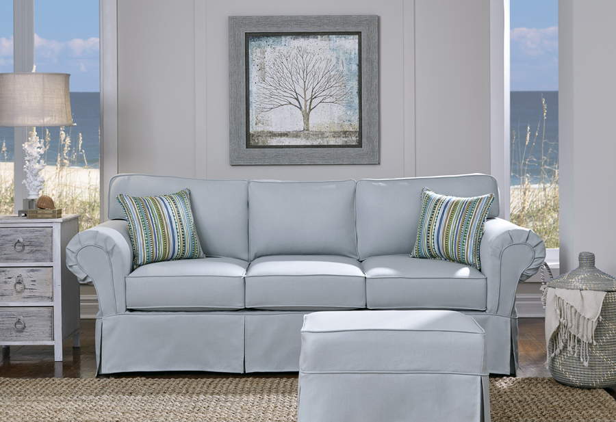 Ashton Slipcover Brook Mist
