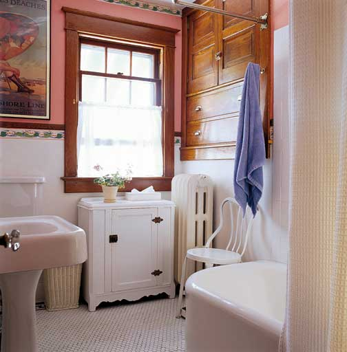 How to Design a Small Bathroom - Old House Journal Magazine