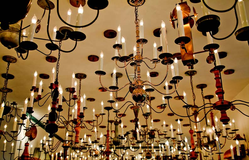 traditional trades handcrafted lighting restoration design for