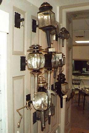 ball and ball lighting hallway