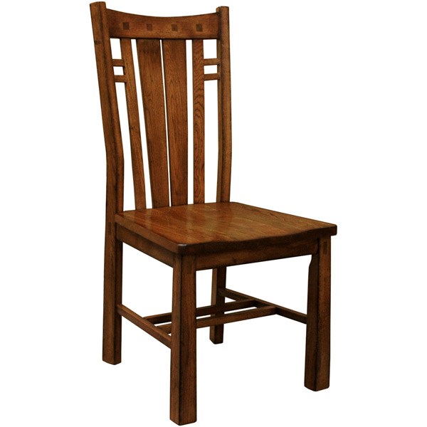 barn furniture mart mission bungalow side chair