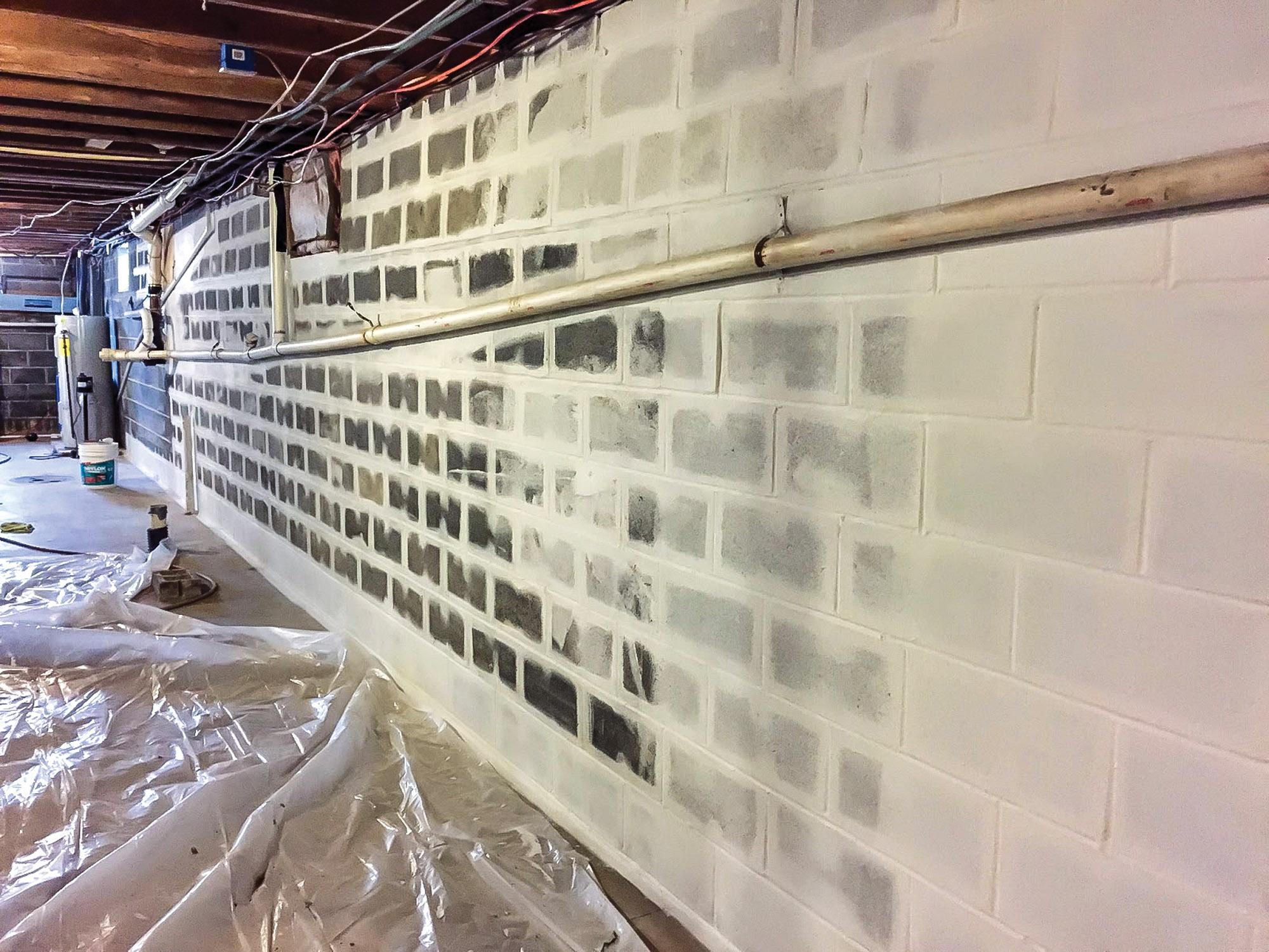 Drylok, basement repair