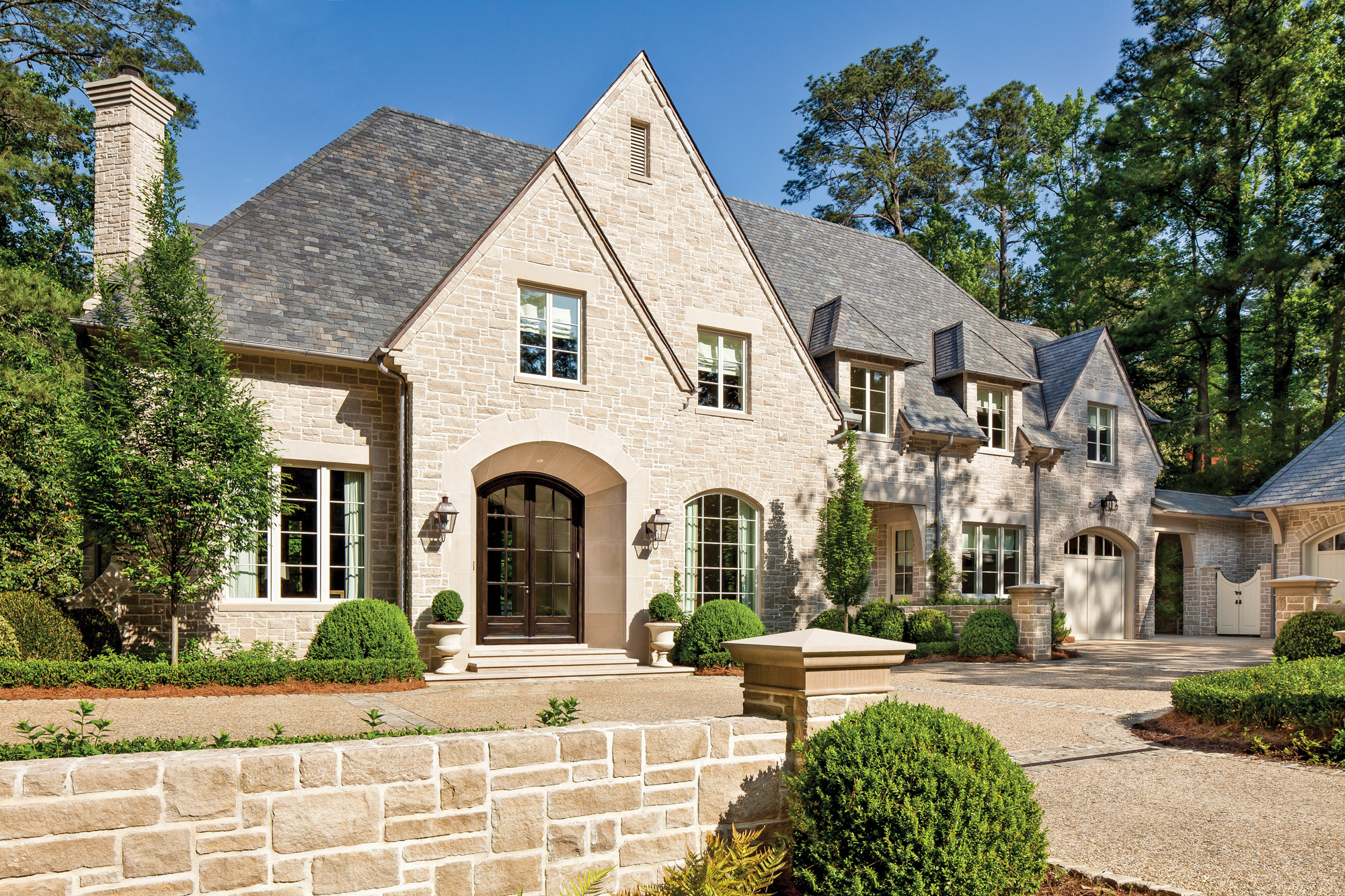 English manor, Atlanta home, Harrison Design