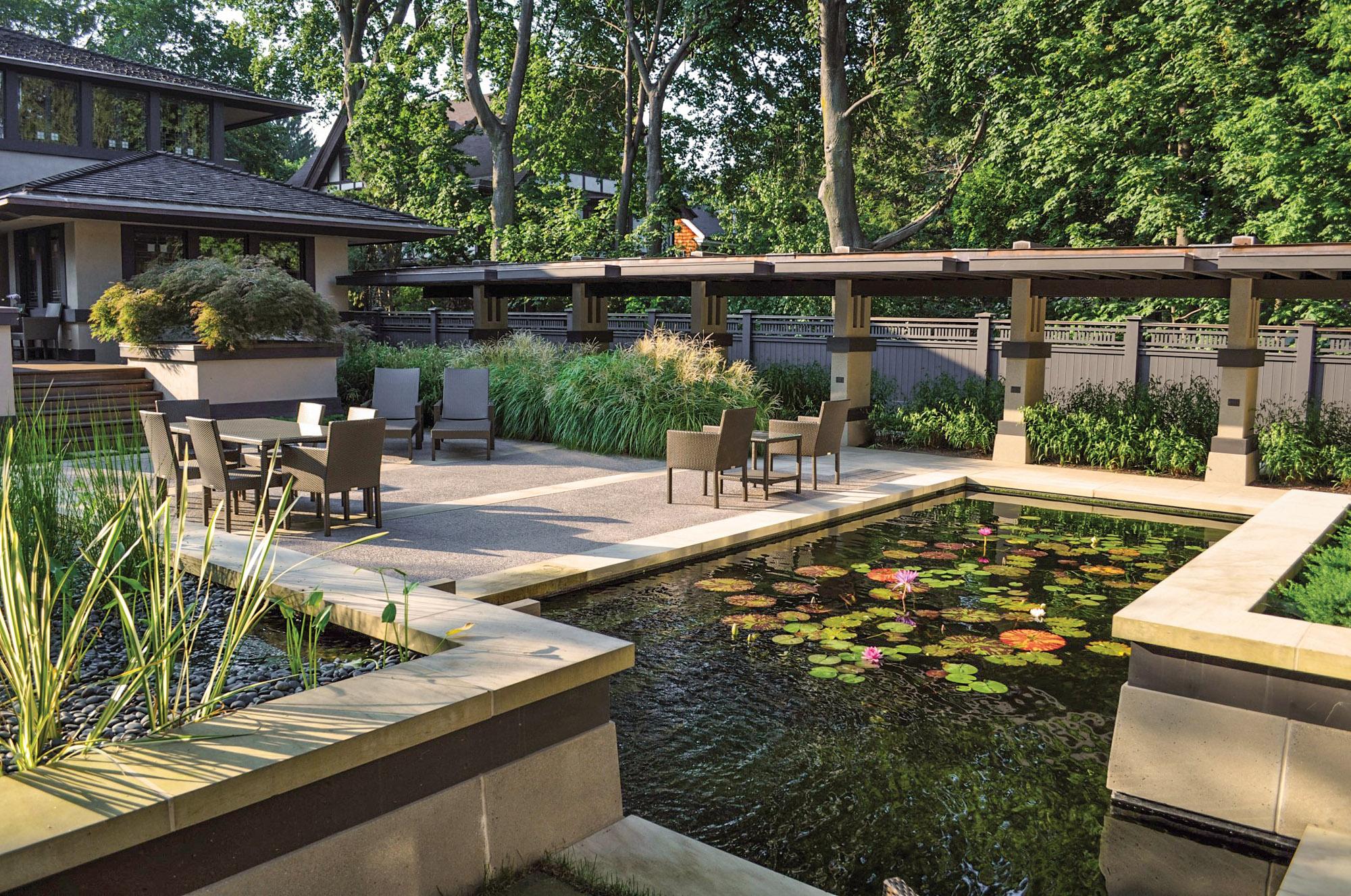 lily pool